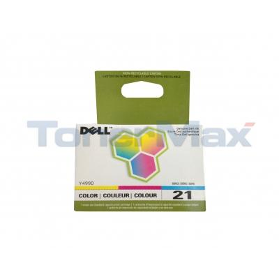 DELL P713W SINGLE USE SERIES 21 PRINT CART CLR